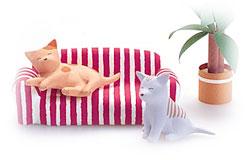 イメージ=ペットアロマ→猫